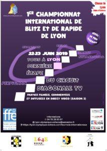 1er championnat International de Blitz de Lyon @ Lyon Olympique Echecs
