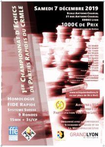 1er championnat du Rhone et 6ème Tournoi des Lumières @ Ecole Charial