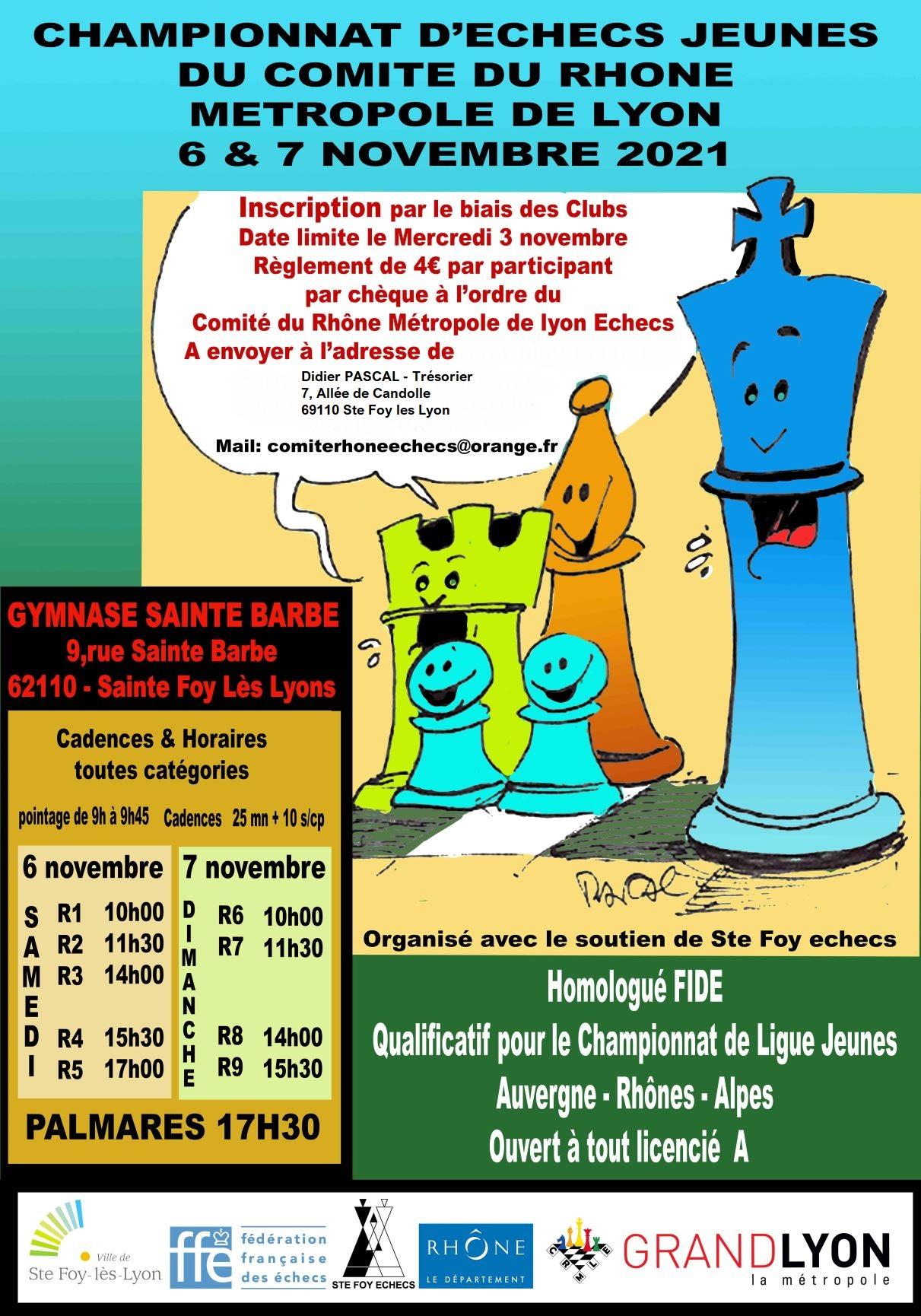 Championnats Jeunes CRMLE @ Gymnase Sainte Barbe